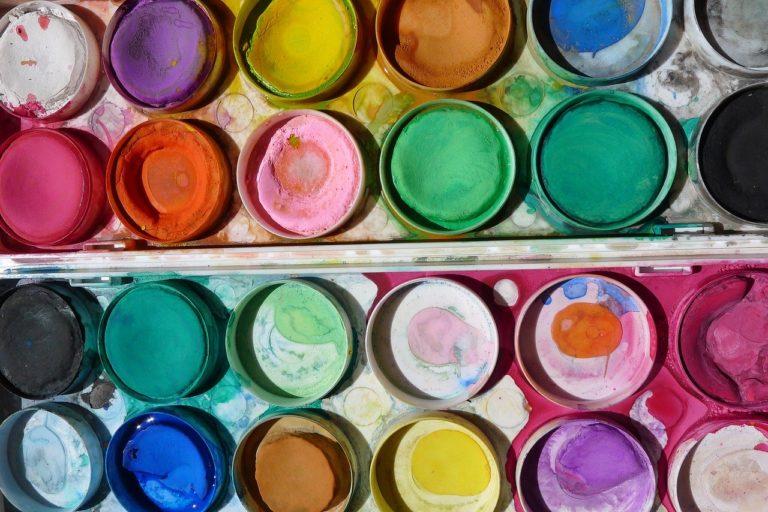 paint, art, paintbox